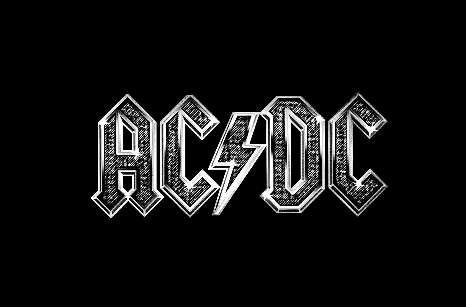 AC/DC乐队logo图片