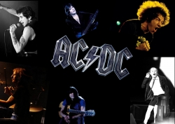 AC/DC乐队成员拼图壁纸
