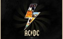 AC/DC 闪电logo壁纸