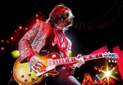 Aerosmith乐队 吉他手现场图片