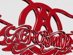 空中铁匠乐队Aerosmith经典logo
