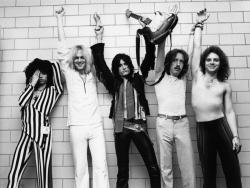 Aerosmith乐队黑白壁纸照片