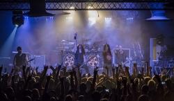 Anthrax乐队演出现场