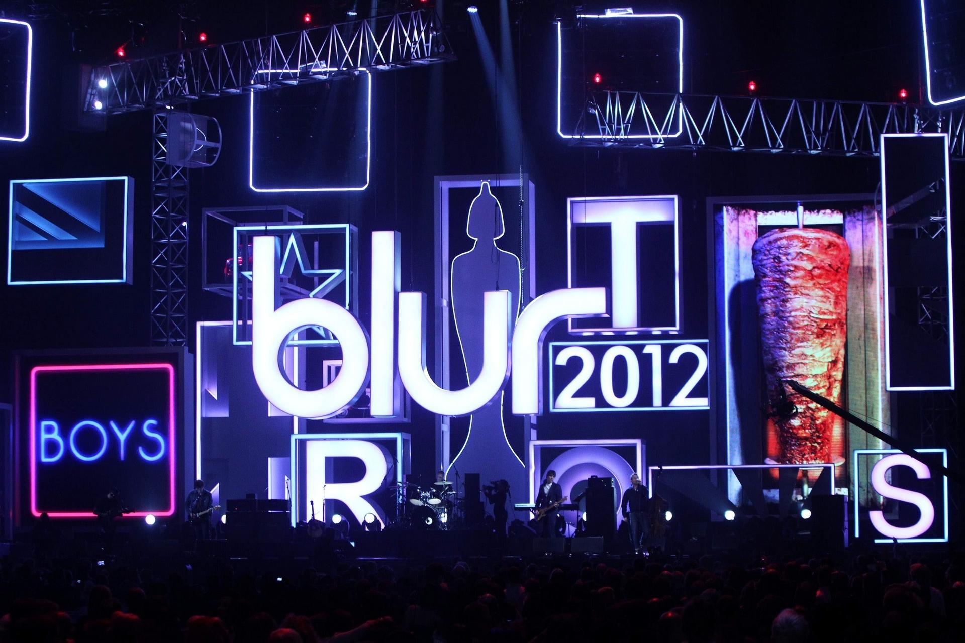 Blur 污点乐队海报图片