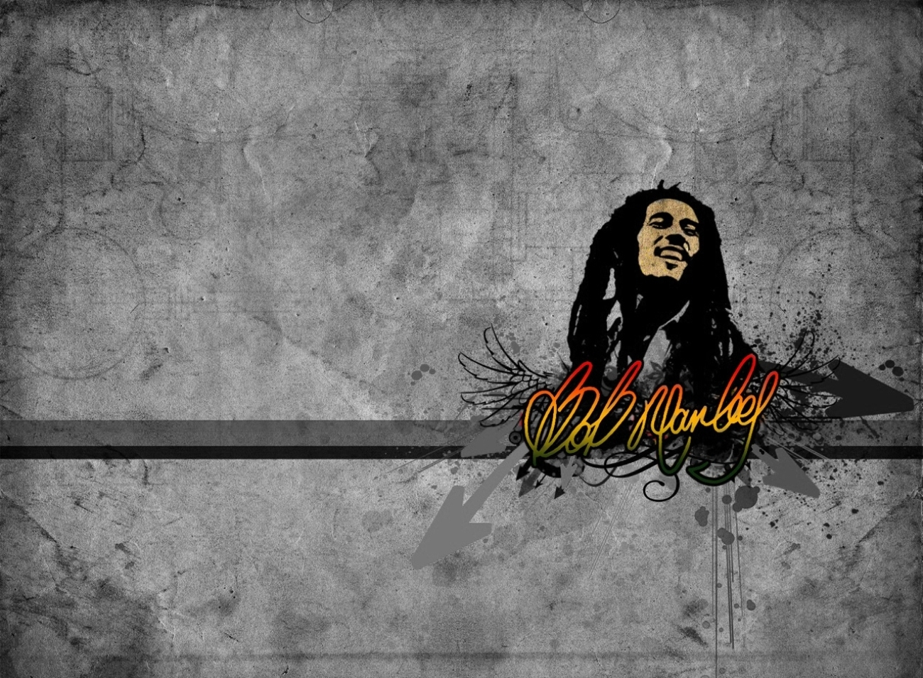 Bob Marley桌面背景