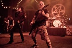 Anthrax 现场超酷桌面图片
