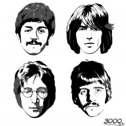 The Beatles 披头士海报图片