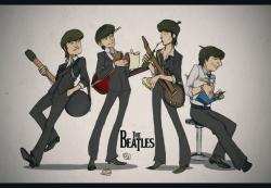 The Beatles 披头士 乐队桌面壁纸图片