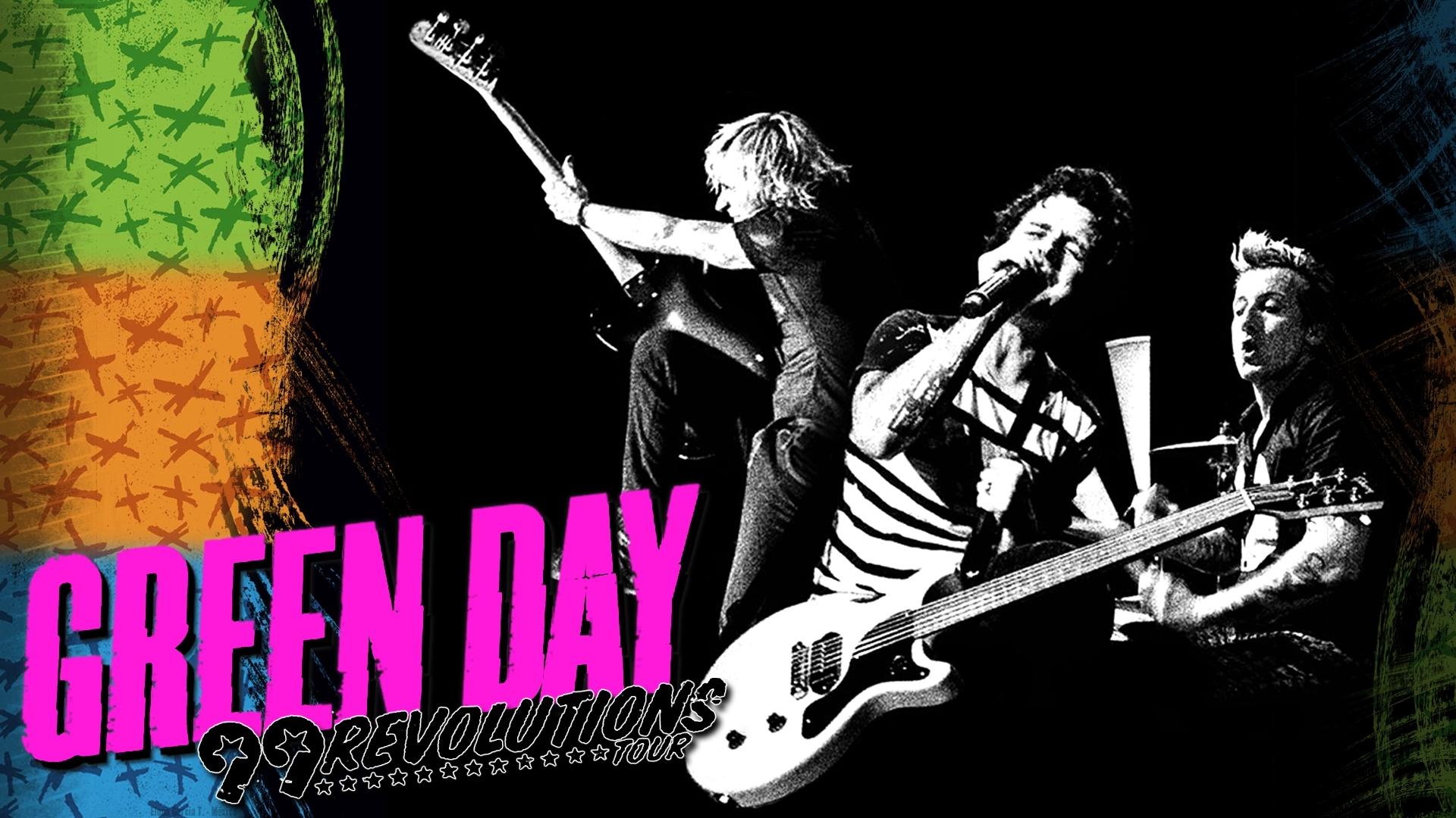 Green Day 绿日乐队桌面壁纸