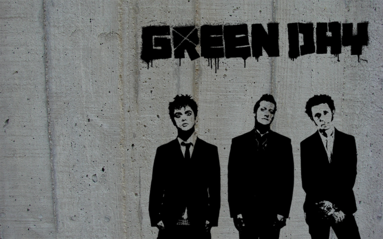Green Day 乐队桌面背景