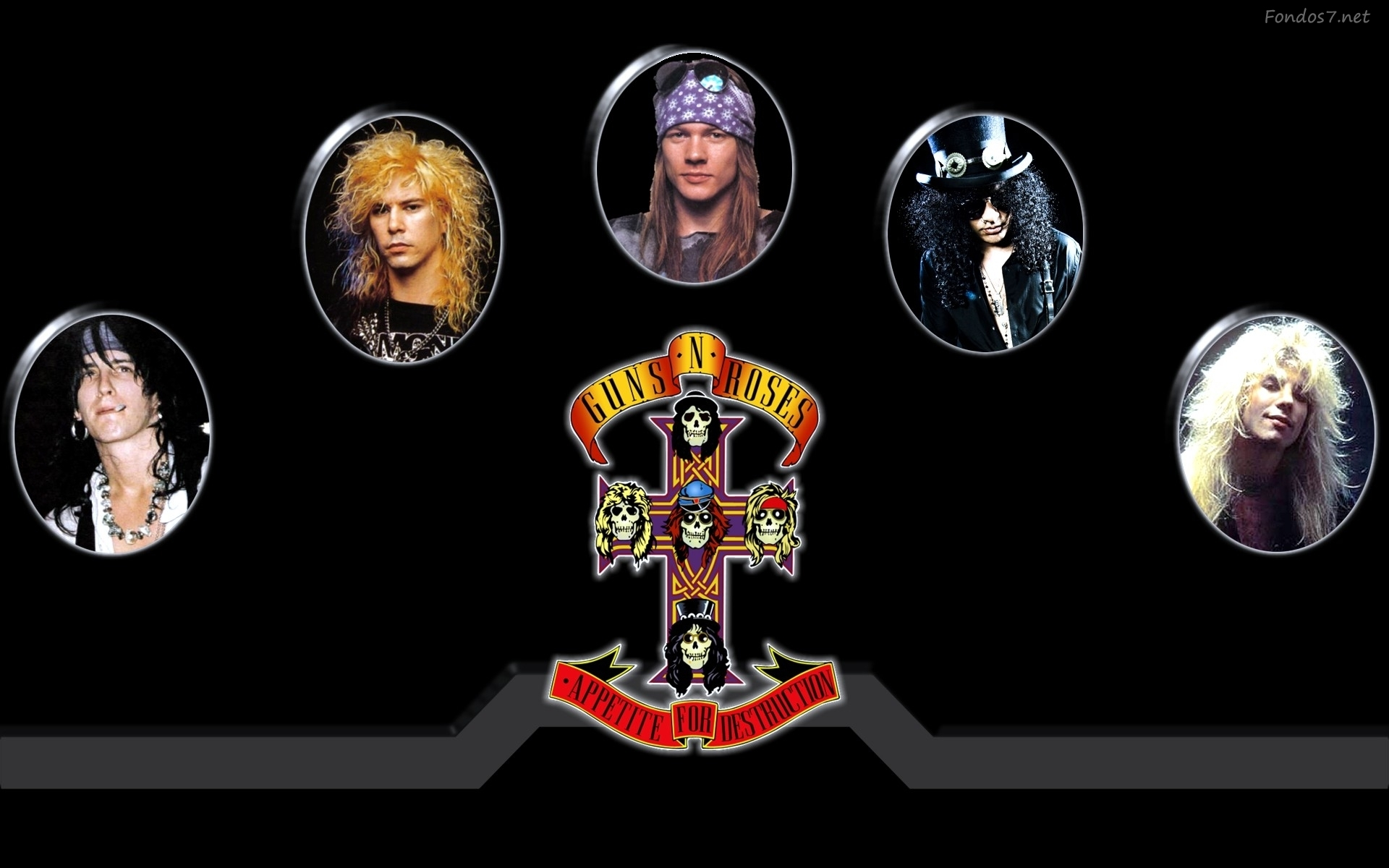 Guns N Roses 桌面背景
