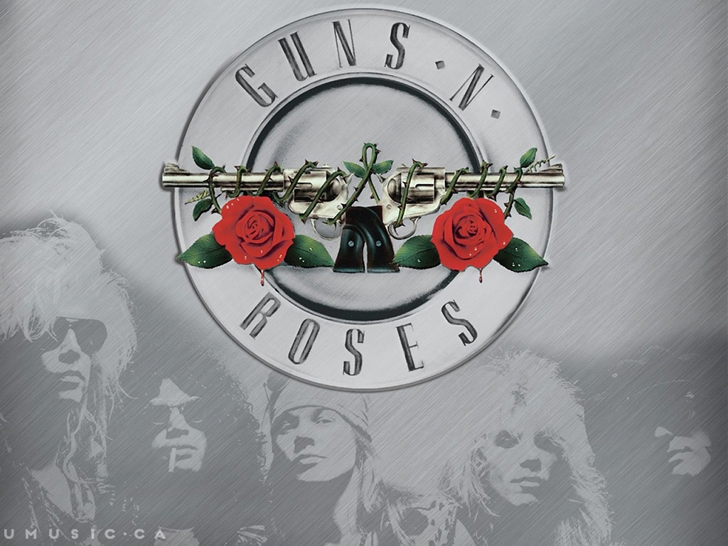 Guns N Roses 乐队桌面背景