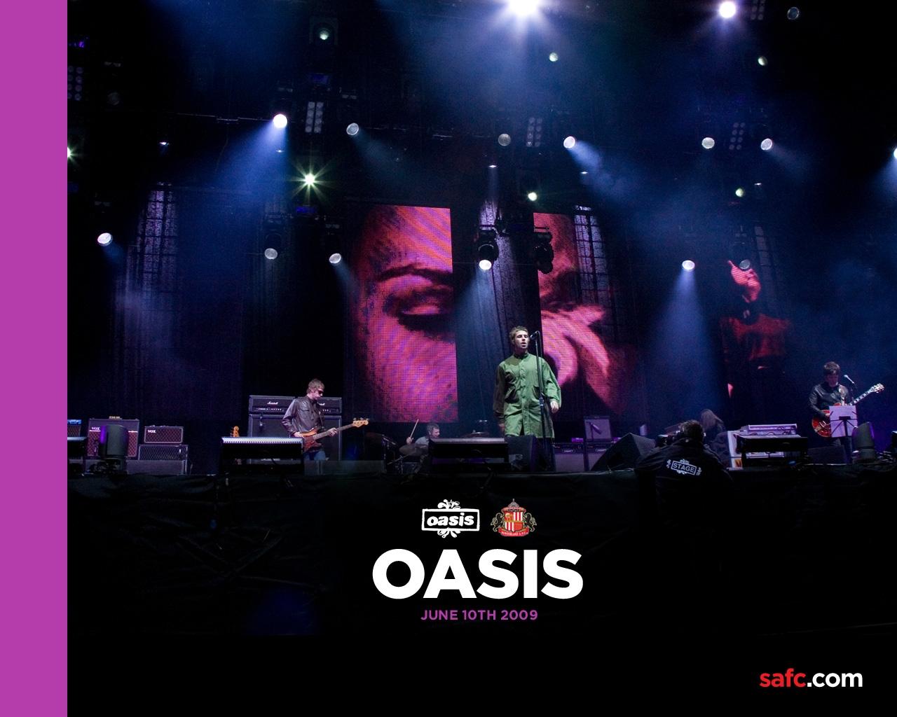 Oasis绿洲乐队壁纸