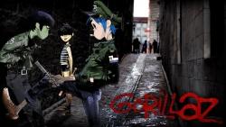 Gorillaz 街头霸王海报图片