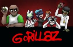 Gorillaz 海报图片