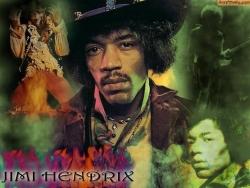 Jimi Hendrix 桌面背景