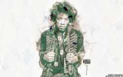 Jimi Hendrix 吉米·亨德里克斯高清大图