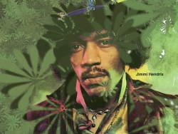 Jimi Hendrix 吉米·亨德里克斯桌面壁纸