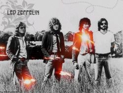 齐柏林飞艇乐队海报图片