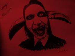 Marilyn Manson海报图片