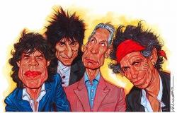 The Rolling Stones乐队桌面背景