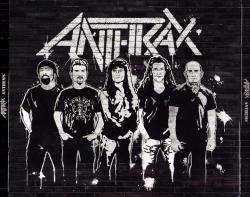 Anthrax 炭疽乐队摇滚黑色壁纸