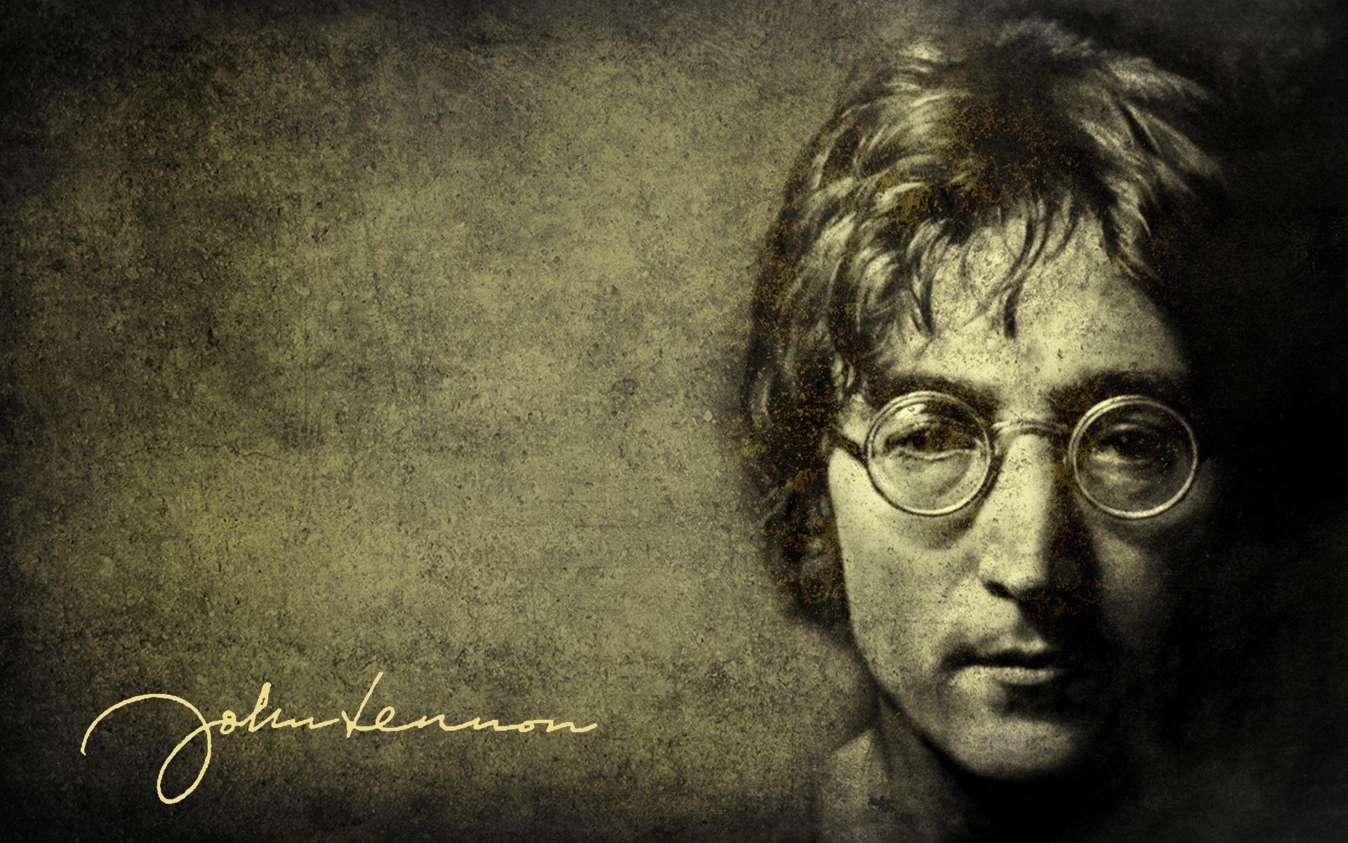 The Beatles 列侬复古壁纸