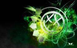 Blink-182乐队绿色Logo壁纸