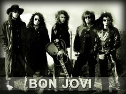 Bon Jovi 邦乔维经典黑色大图