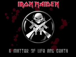 Iron Maiden 铁娘子乐队经典黑色壁纸