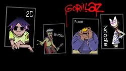 Gorillaz 摇滚桌面图片