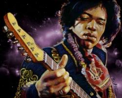 Jimi Hendrix 吉他之神壁纸