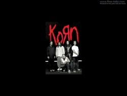 Korn黑色摇滚桌面图片