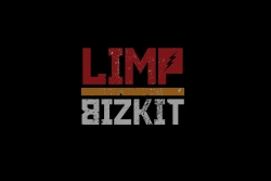 软饼干乐队 Limp Bizkit高清黑色logo桌面