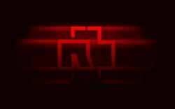 Rammstein 德国战车乐队logo壁纸