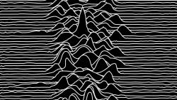 Joy Division快乐分裂乐队经典图片unknown pleasures专辑封面壁纸