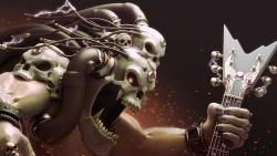 死亡摇滚金属桌面背景图片