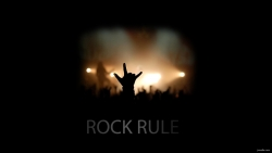 rock rule 摇滚手势图片高清壁纸