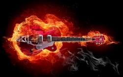 摇滚风格电吉他图片壁纸
