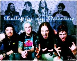 Bullet for My Valentine乐队桌面壁纸