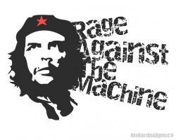 暴力反抗机器乐队和切格瓦拉桌面背景