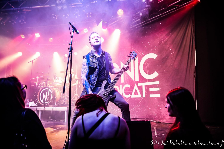 Sonic Syndicate音速联合乐队现场演唱会Live高清图