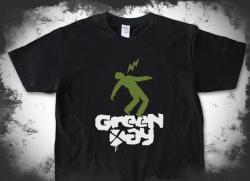 Green Day 印花T恤