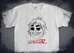 Gorillaz 印花T恤